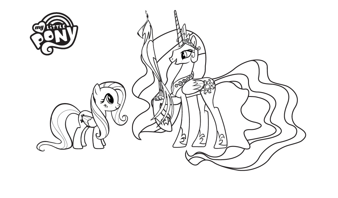 My Little Pony Coloring Pages Crystal Empire : My little pony crystal empire coloring pages