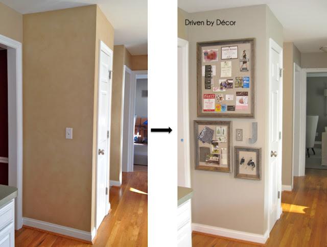Diy restoration hardware bulletin board driven by decor for Bulletin board ideas for kitchen