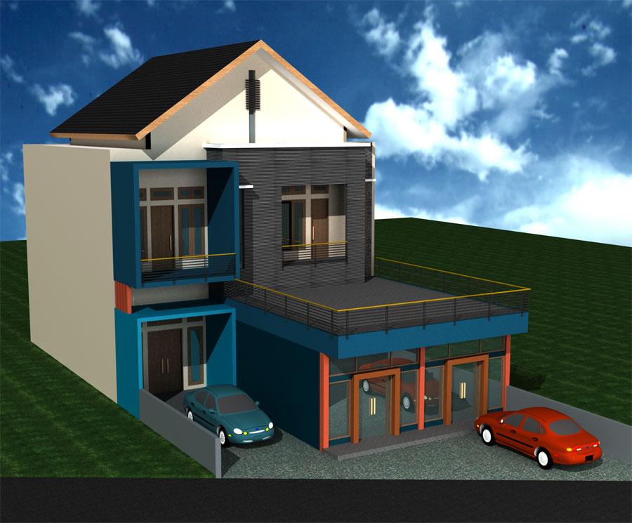 rizal echaa gambar perencanaan rumah rizal eka di jogja