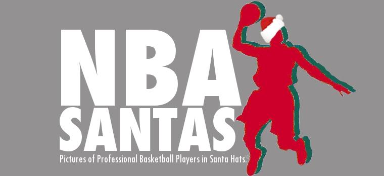 NBA Santas