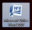 Acceso directo de Microsoft Word
