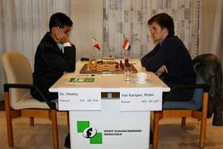 Echecs : Wesley So (2706) 1-0 Robin Van Kampen (2607) © site officiel