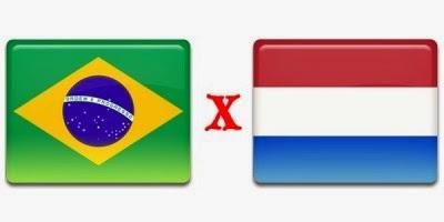 Brasil (4º puesto) 0 - 3 Holanda (3º puesto). Holanda castiga a Brasil con otra goleada.