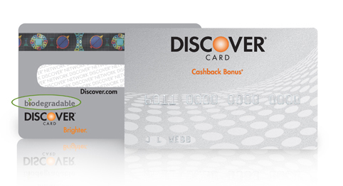 Discover Biodegradable Card
