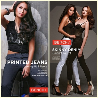 Isabelle Daza for Bench Back to School (Denim) campaign