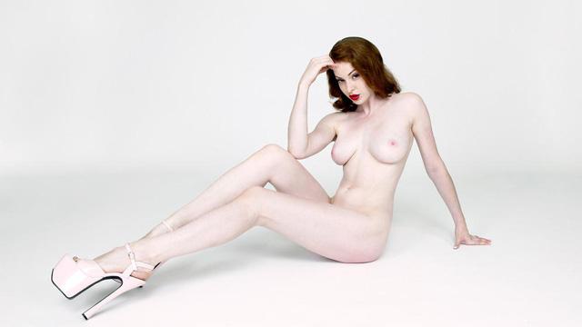 Esme Bianco, Full Frontal Nude Stephen McClure Shoot