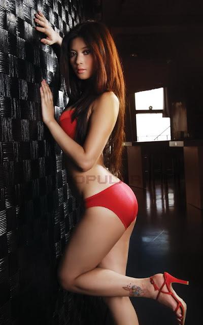 novi amalia novi amelia novi amilia novie amalia novie amelia - Red Bikini - Photo Hot Popular no sensor