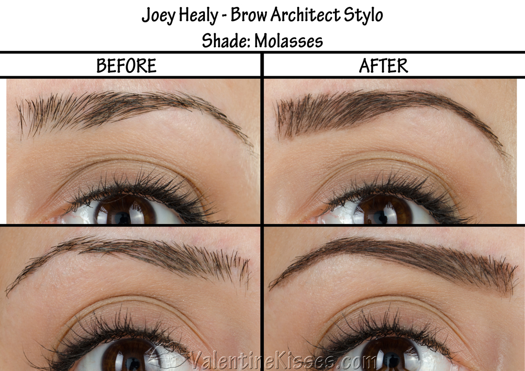 Valentine Kisses Joey Healy Brow Architect Stylo In Molasses