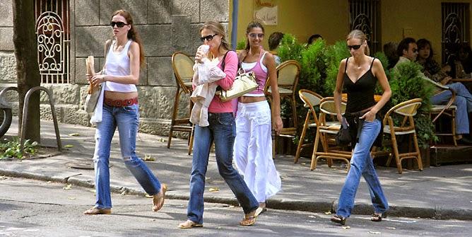 Women in Belgrade