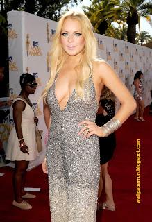 Lindsay Lohan MTV Movie Awards 2010