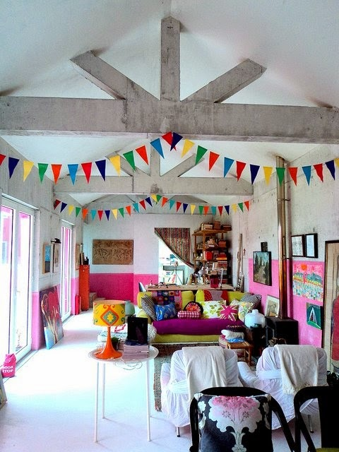 Living Room Bunting