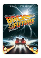 Back to The Future Trilogy: Steel Book