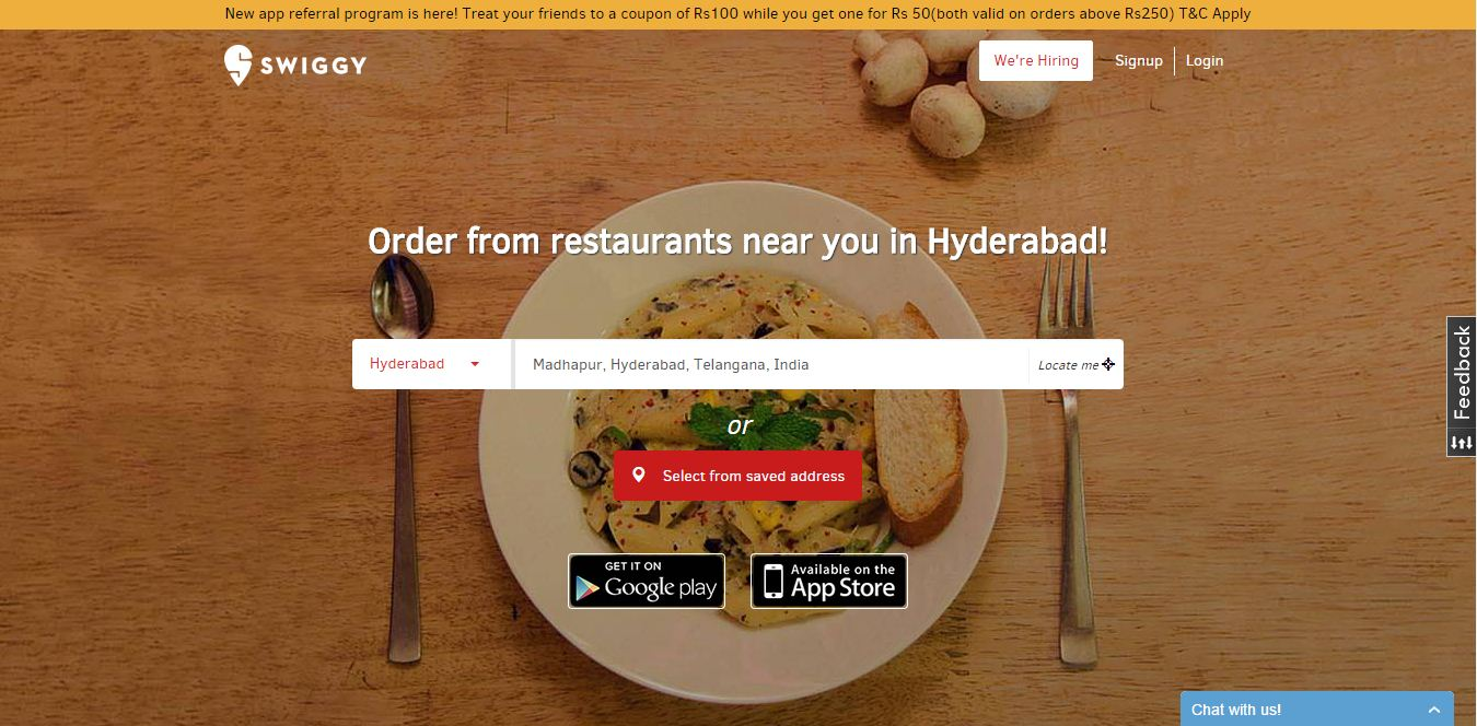Order Food Online With Swiggy Food Delivery App Mohan Siva Zone