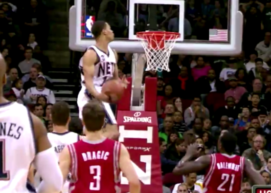 Gerald Green Vertical Leap Attempting a vertical jump