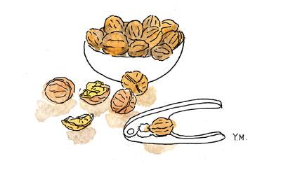 Nuts by Yukié Matsushita