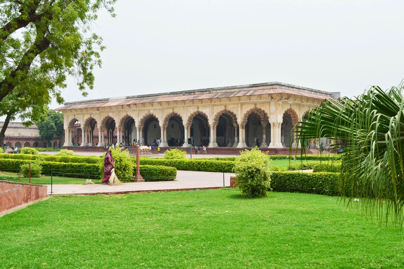 garden Photo Agra Fort