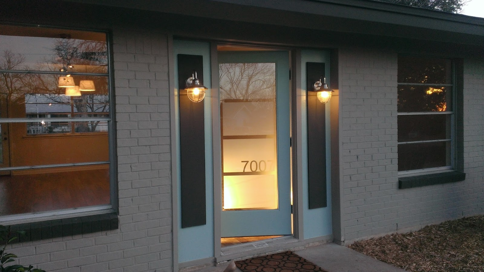 900 #B88113 We Just Finished Doing The Frosted Glass On The Front Door. Thank You  image Front Doors With Frosted Glass 38731600