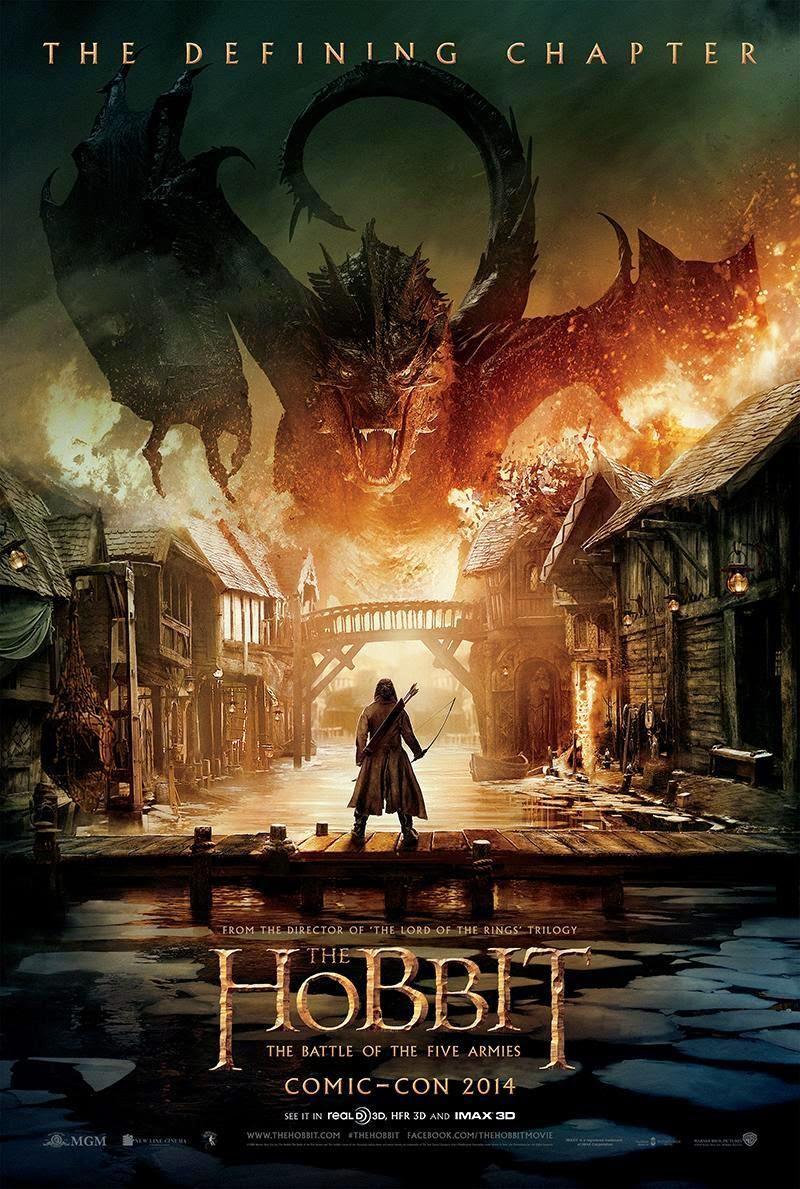 "Poster de ""El Hobbit: La Batalla de los Cinco Ejercitos"""