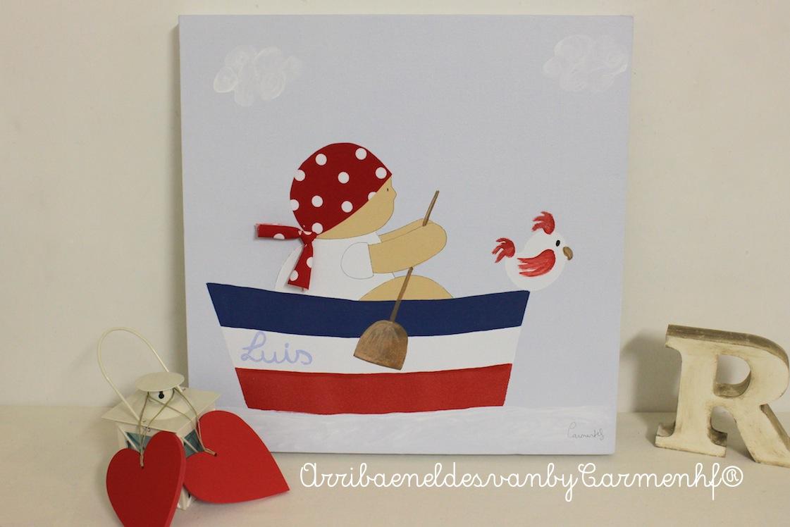 01 dec cuadros infantiles personalizados decoraci n - Cuadros habitaciones infantiles ...