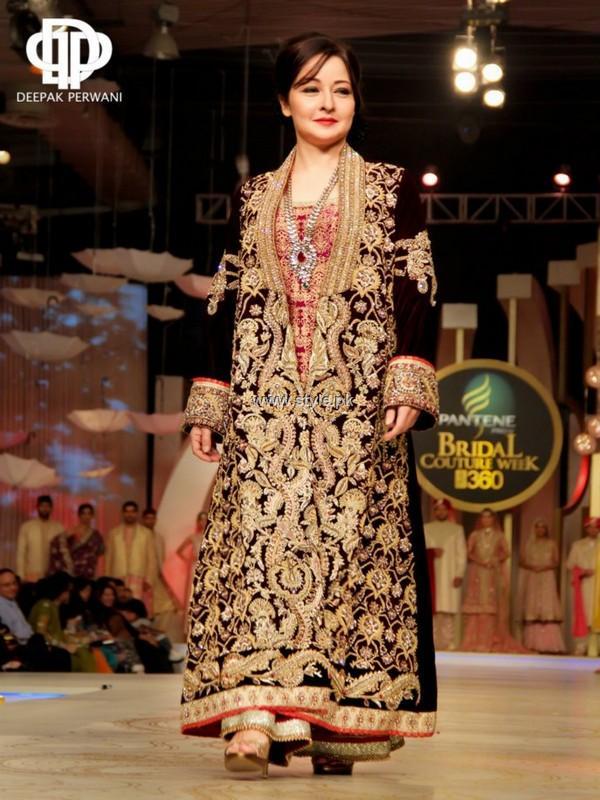 Deepak Perwani Bridal Collection at BCW 2013 | Fashion in New Look