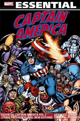 Avengers Essential Captain America Vol. 2
