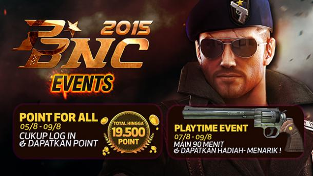 Senjata Baru Event Point Blank Garena Indonesia PBNC