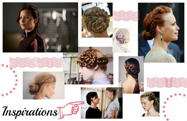 Hair Tutorial: Chignon Bun, inspiration Katniss Everdeen