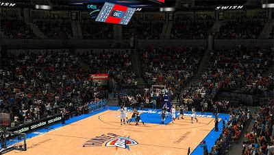 NBA 2K13 Oklahoma City Thunder Stadium