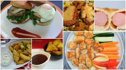 Comida r pida o basura elevada de categor a cocina for Comida rapida y facil de preparar en casa