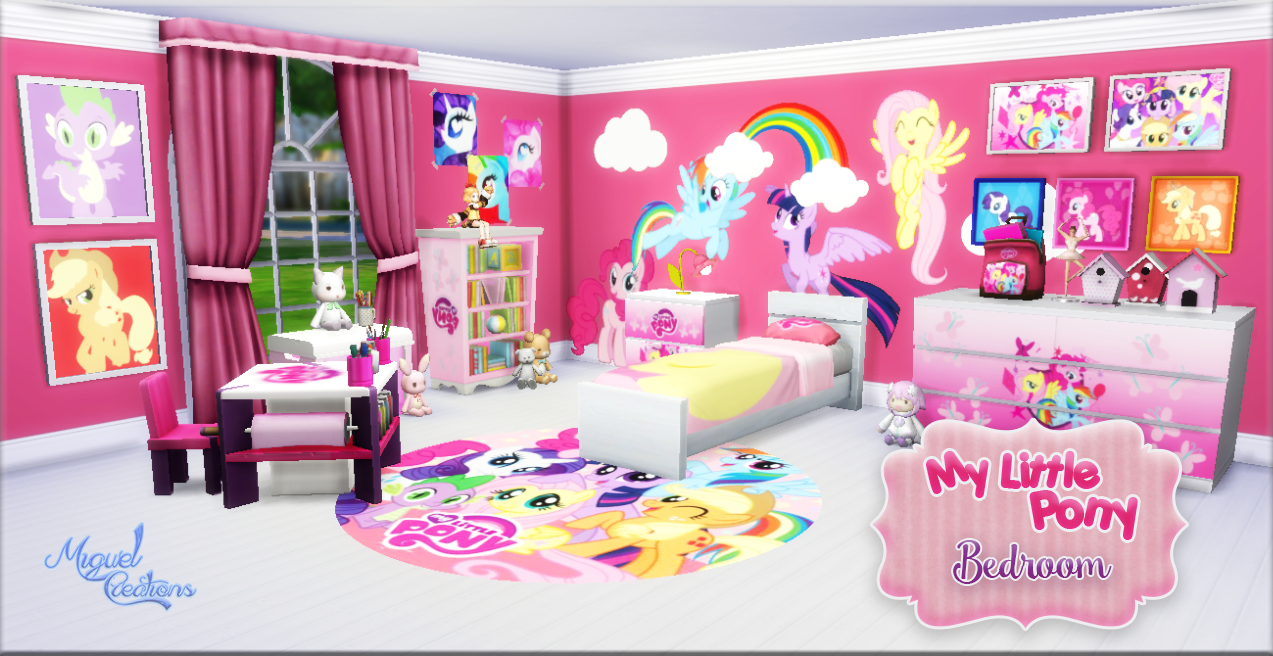 Awesome Bedroom   My Little Pony