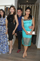 Urvashi Routela looks super gorgeous in Black gown at Atosa Store Khar, Mumbai with Shriya Saran, Mugdha Godse