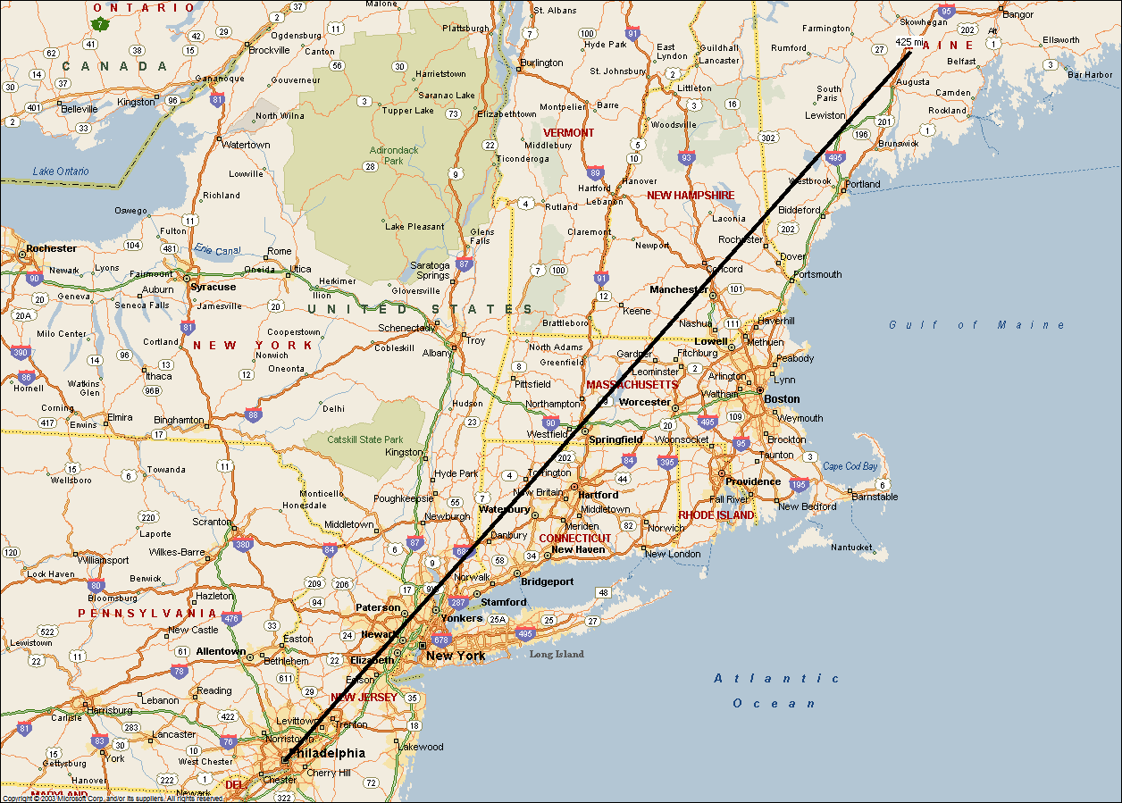 Distance Calculator Map Weather Channel Maps - Us mileage map
