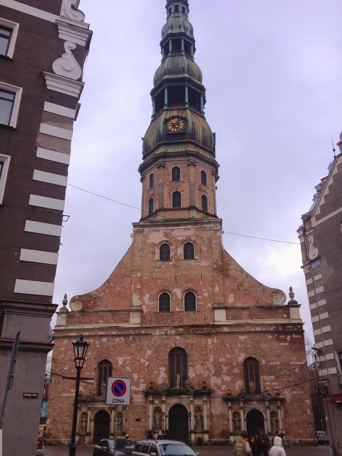 St Peter's Church Riga