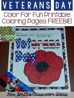 http://www.fernsmithsclassroomideas.com/2014/11/tuesday-teacher-tips-veterans-day.html