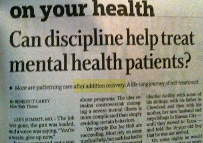 Headline: More are patterning care after addition recovery
