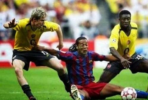 smešne slike: Ronaldo Brazil u duelu