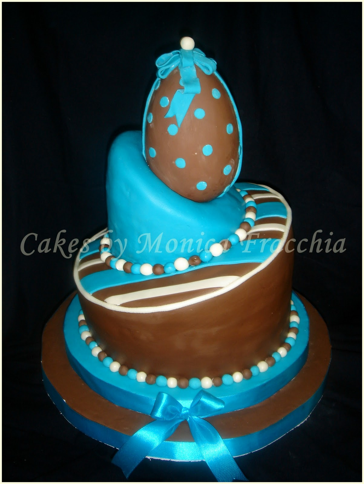 TORTA DECORADA PARA BABY SHOWER | TORTAS CAKES BY MONICA FRACCHIA