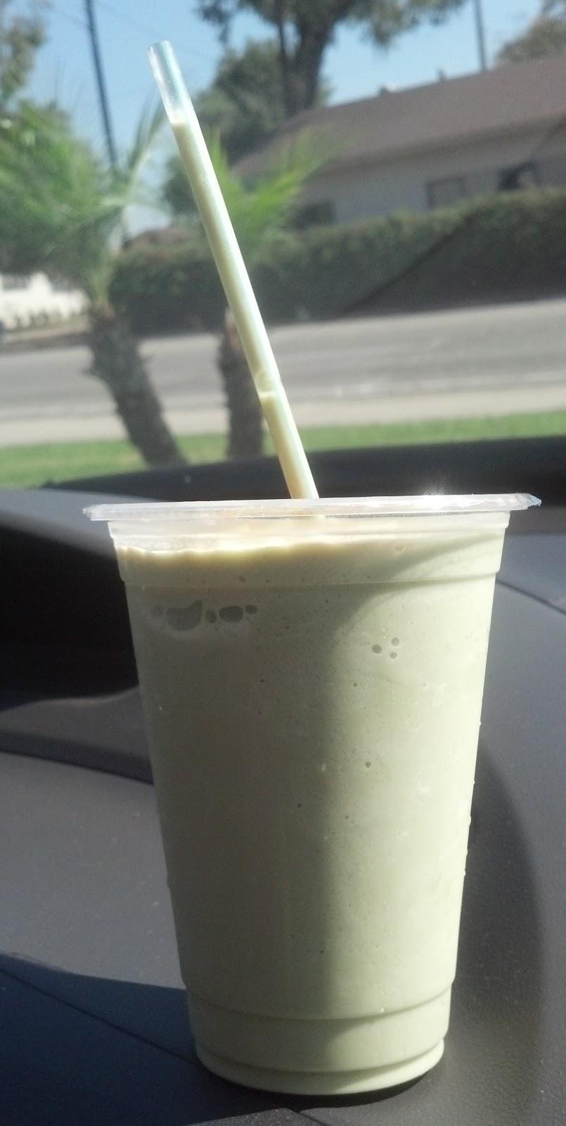 Corrie Food: Green Tea Matcha Slush @ Boba Tea House - Riverside, CA