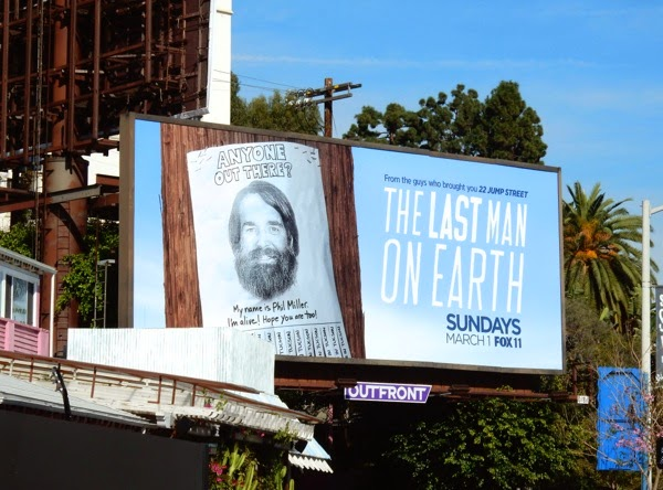 Last Man On Earth season 1 billboard