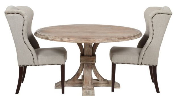 My Hunt for the Perfect Kitchen Table Driven by Decor : ZGallerieArcherrounddiningtablewoodacacia from www.drivenbydecor.com size 613 x 338 png 135kB