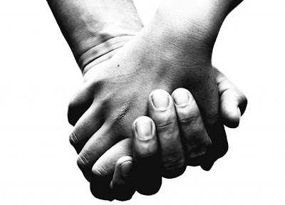 mãos dadas