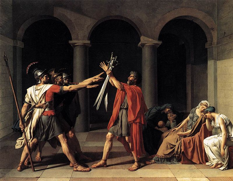 david oath of the horatii 1784