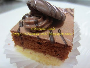 Chocolate Mini Slice Cake