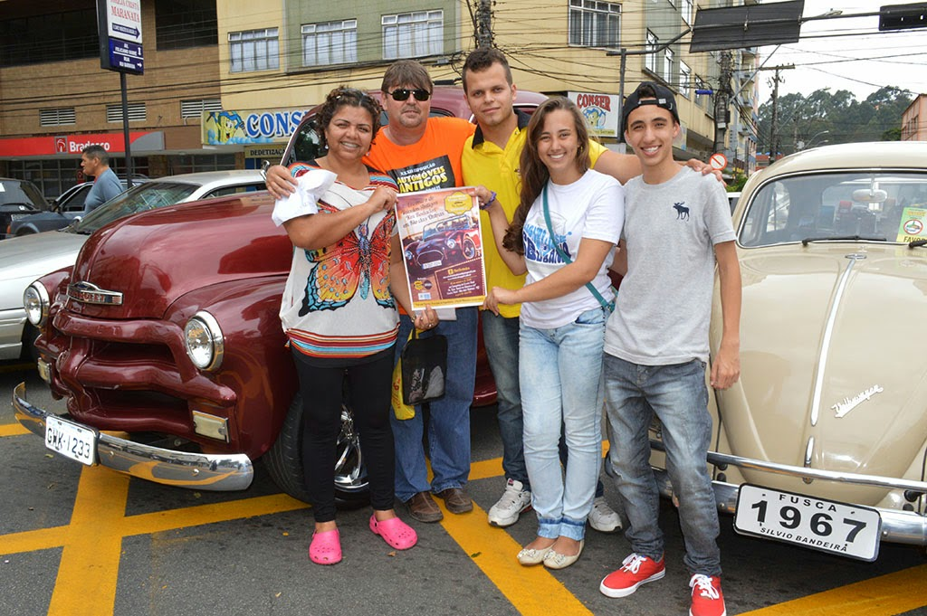 O grupo de Rio das Ostras 'Kms Rodados' não perdeu a oportunidade de se confraternizar com outros colecionadores