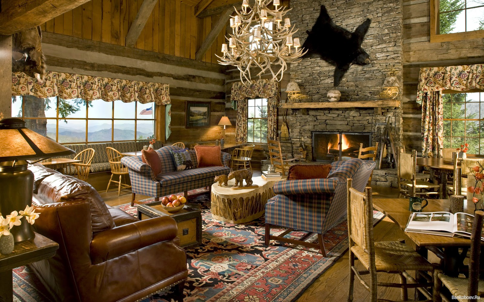 Interior Design Country Style, Furniture In Country Style,Colors In Country  Style, Ideas