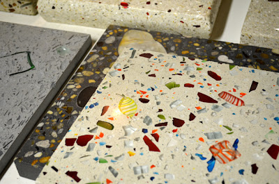 Terrazzo samples at DEX Industries