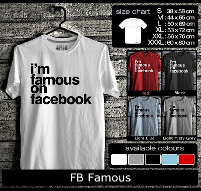 kaos distro FB Famous