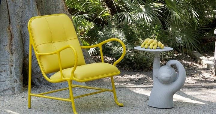 Divertida mesa auxiliar con forma de Mono by Jaime Hayon