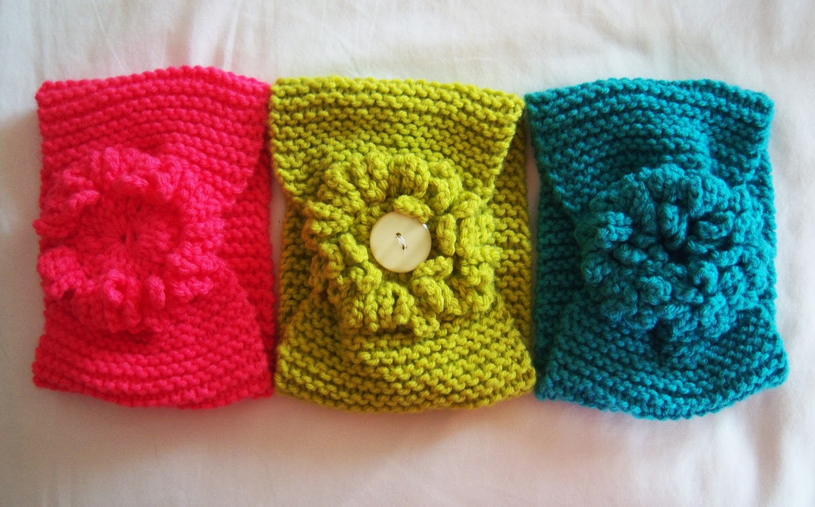 Knitting Patterns For Head Wraps : Shoregirls Creations: Knitted Head Wrap