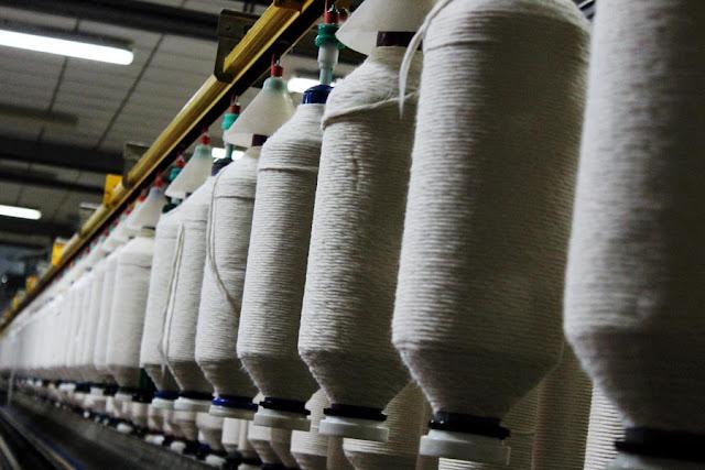 large spools of thread